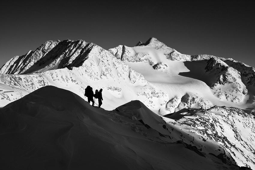 Mrazivé Alpy