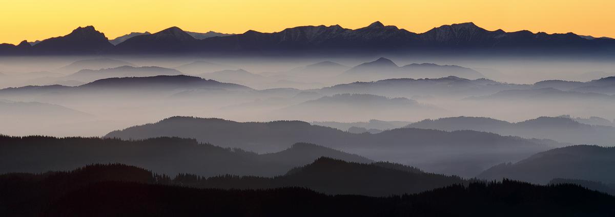 Malá Fatra z Lysé hory