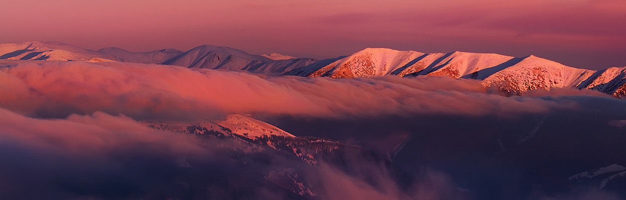 Low Tatras Pano