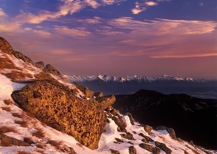 Pink Tatras
