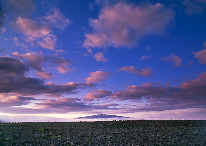 Volcano & Sky