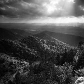 Random landscape photo - Rays from Heaven