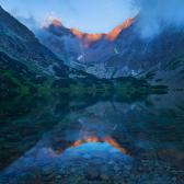 Random landscape photo - Tatra�s Reflection