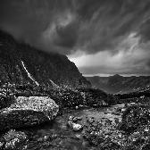 Random landscape photo - Dark Tatras