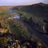 Random landscape photo - Hafragilsfoss