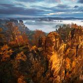 Random landscape photo - Podzimní Sasko