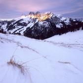 Random landscape photo - First Light on Gastlosen