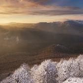 Random landscape photo - Battle - fall vs. winter