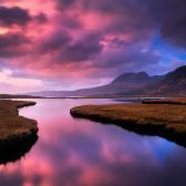 Random landscape photo - Lake & Sky