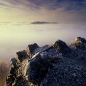 Random landscape photo - Mists of Carpathians