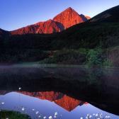 Random landscape photo - Mountain Light