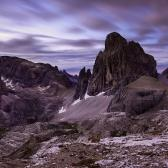 Random landscape photo - Night in Sexten Dolomites