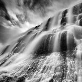 Random landscape photo - Dynjandi waterfall