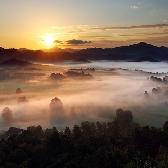 Random landscape photo - Ráno pod Studeným vrchem