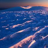 Random landscape photo - Snow dunes