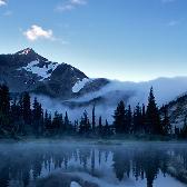 Random landscape photo - Vantage peak