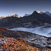 Random landscape photo - Sikkim, severn� Indie