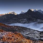 Random landscape photo - Sikkim, severn� Indie
