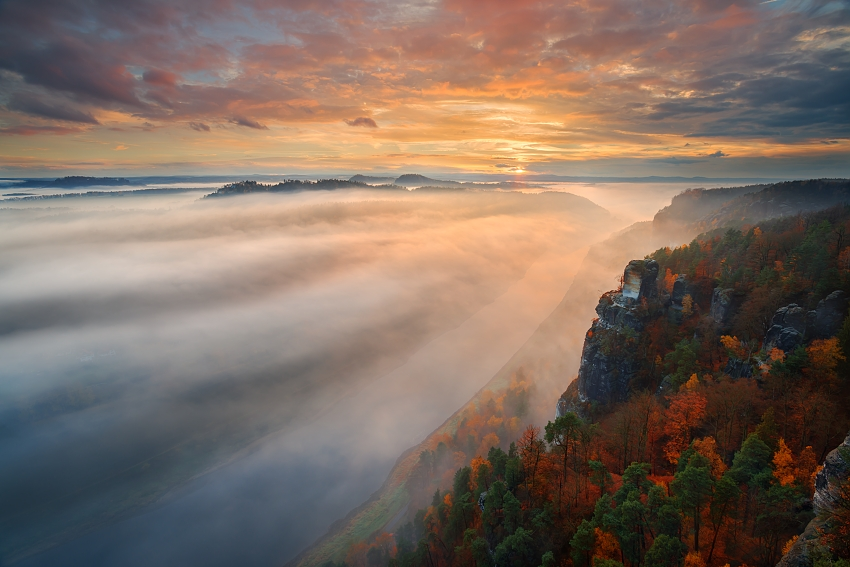 Podzimní Sasko